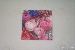Eladó szalvéta pünkösdi rózsa mintás