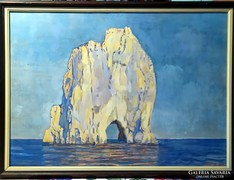 Benkő Katalin eredeti olajfestménye, 50 x 70