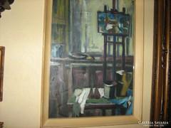 Bojtor Károly: Műterem