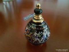 Görög parfümtartó porcelán