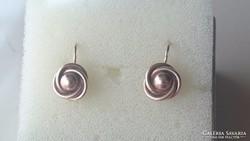 Arany 14 karátos antik fülbevaló