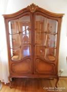 Warrings vitrines szekrény 195x120x45cm