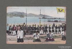 KÉPESLAP- KINA- KIVÉGZÉST ÁBRÁZOL 1900-AS ÉVEK ELEJE