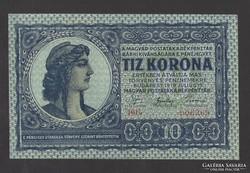10 korona 1919. FRÍGIAI!!. aUNC!!! EXTRA SZÉP!! RITKA!!
