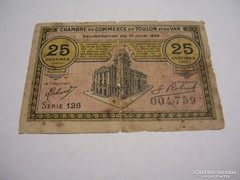 25 Centimes 1922 Toulon.