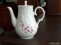 Szép, formás porcelán tea/kávé kiöntő