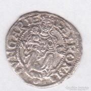 I.Ferdinánd 1555, dénár, Ritka verdejel N-C, 0,43 gr,