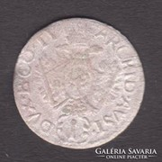 Osztrák 1 krajcáros VI.Károlytól Tiroli veret.0,59 gr.