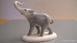 Szerencse hozó porcelán elefánt