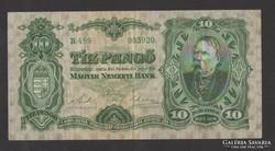 10 pengő 1929. (VF+) !!! NAGYON SZÉP!!!