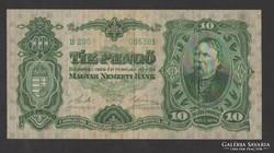 10 pengő 1929. (VF+++) !!! GYÖNYÖRŰ!!!