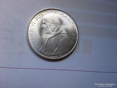 1967 Vatikáni ezüst 500 líra 11 gramm 0,835 Ritka gyönyörű d