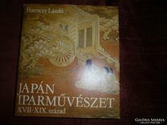 Japán Iparművészet-különleges jól használható szakkönyv