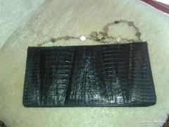 Krokodil bőr táska