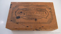 Antik Gerbeaud, Kugler Henrik süteményes doboz, fadoboz