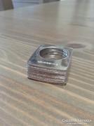 PIANEGONDA márkájú design ezüst gyűrű