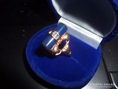 14K aranygyűrű