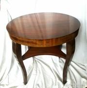 Magyar Art Deco kerek asztal 70cm