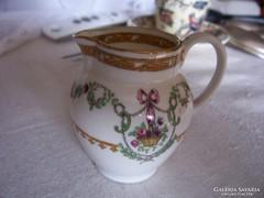 Copeland tejszínes kannácska, antik angol fajansz