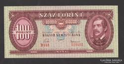 100 forint 1957. TÖKÉLETES UNC!!
