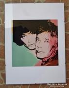 Andy Warhol színes grafika Mr. Chamberlain