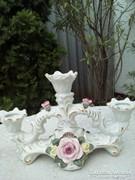 Porcelán, gyertyatartó