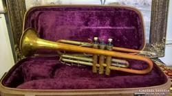 Antik cseh hangszer. Hiányos, javítható.