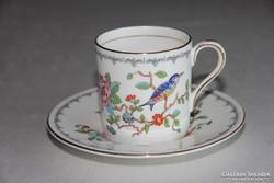Aynsley Pembroke  madaras kávés csésze alátéttel