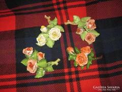Herendi 4 db rózsacsokor egyben