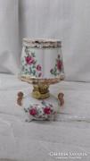 Régi, nagyon ritka, porcelán petróleumlámpa, működőképes