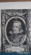 J. Louys after P.P. Rubens 40 x 27 cm-es rézmetszet 1644-es