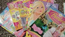 Barbie régebbi folyóiratok eladóak 100.-ft /db