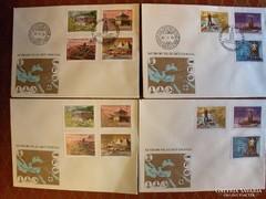 Első napi Boríték postatiszta - 1980 II 29