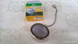 Agatha's Bester teafilter, ovális, nagy méret