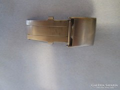 18 mm  békazár bőr szíjhoz