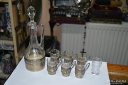 Ezüst pohárkészlet