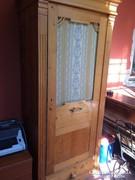 Antik szekrény felújítva