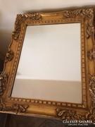 Barokk stílusú antik tükör