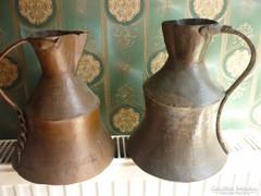 2 darab antik kupa....