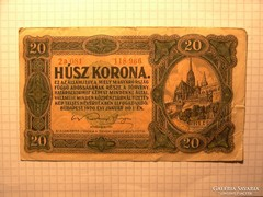 20 Korona  1920 !!