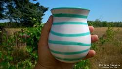 Gmundner mintájú váza