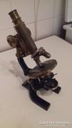 Régi CREICHERT No7985 mikroszkóp eladó
