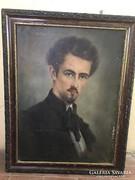 Petőfi Sándort ábrázoló festmény