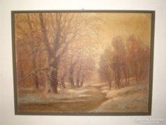 Festmény V. Sashegyi K.