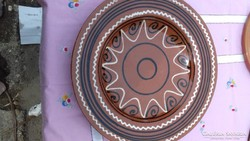 Kerámia falitányér nagyméretű