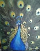 Páva című festmény