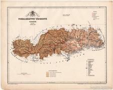 Torda Aranyos vármegye térkép 1899, Magyarország atlasz