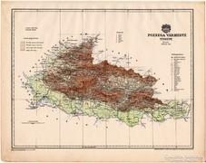 Pozsega vármegye térkép 1899, Magyarország atlasz (a), megye