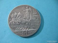 Olaszország Ezüst 1 Líra 1913