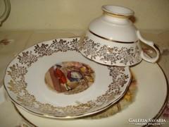 Angol porcelán reggeliző szett 1.